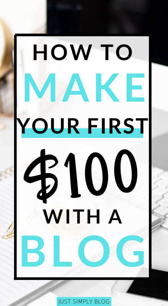 Start your blog & make your first $100 with these first few easy steps. By simply getting content on your site with ads & affiliate you can generate income.